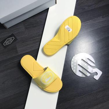 Hàng Chính Hãng Dép Lacoste Slide Yellow 2020**