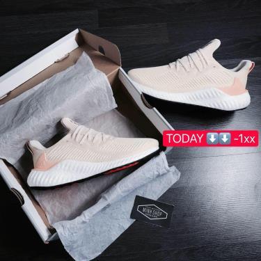 sale 50% Hàng Chính Hãng Adidas Alpha Boost 'Ecru Tint Glow Orange'  2020** only 02 ĐÔI