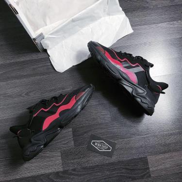 FLASH DEAL  50% Hàng Chính Hãng Adidas Ozweego Black/Red 2020