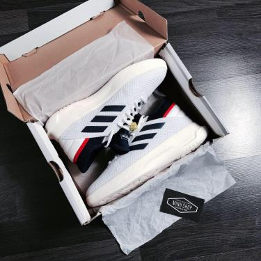 Hàng Chính Hãng Adidas Fusion Storm Basketball White Navy **2020**
