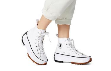 Hàng Chính Hãng Converse Run Star Hike Hi White Black Gum 2020**