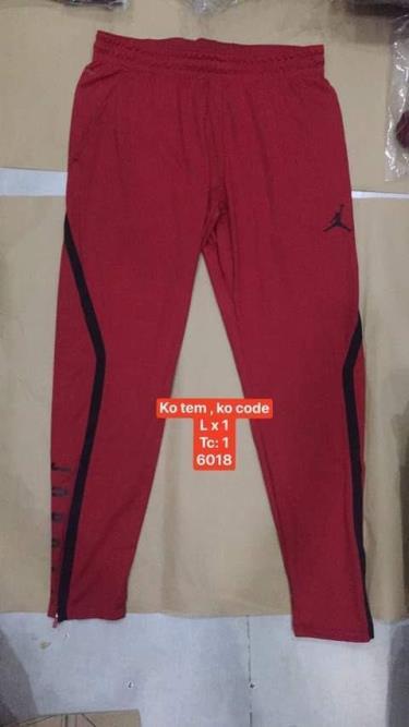 Hàng Chính Hãng Quần Nike Jordan Jogger Pants Red 2020**