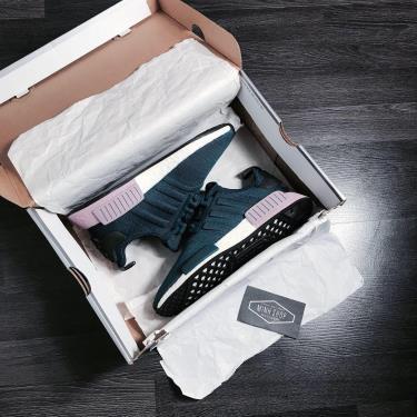 Hàng Chính Hãng Adidas NMD R1 Teal /Purple 2020**