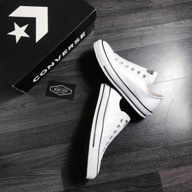 Hàng Chính Hãng Converse Chuck Taylor All Star Leather Slip White/Black  2020**
