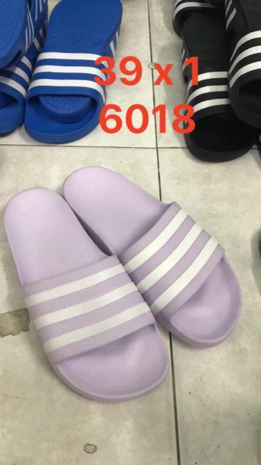 Hàng Chính Hãng Dép Đúc Adidas Adilette Aqua Slides Light Purple /white **2020**