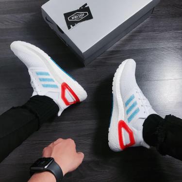 65% SALE Hàng Chính Hãng Adidas Ultra Boost 6.0  White Sharp Blue  2020**
