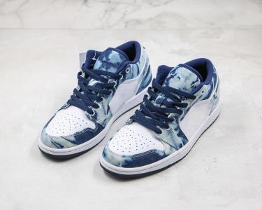 Giày Nike Air Jordan 1 Low SE 'Washed Denim'  [O] **HOT** [CZ8455 100]