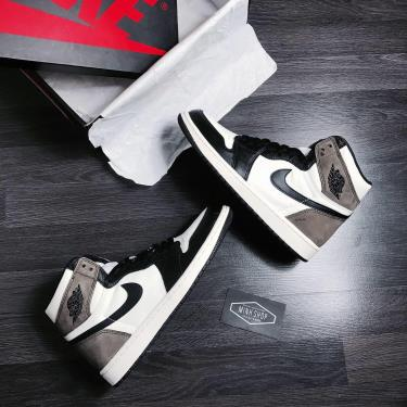 Hàng Chính Hãng Nike Jordan 1 Retro High Dark Mocha 2021** [ O ]
