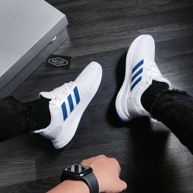 "Hàng Chính Hãng Adidas Runfalcon ""Cloud White/Collegiate Royal"" 2020**"