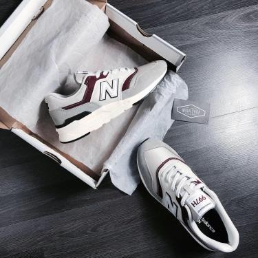 Hàng Chính Hãng NewBalance  997H White/Grey/Maroon 2020**