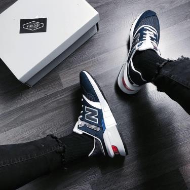 Hàng Chính Hãng Newbalance 997 Sport Navy/White  2020**