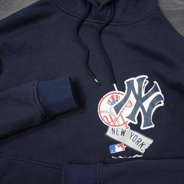 Hàng Chính Hãng Áo Hoodie New Era Navy/Yankees LOGO2020**