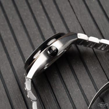 💥 Last 💥 Đồng Hồ Maserati Triconic Automatic Blue Gunmetal Watch **  [R8823139001]