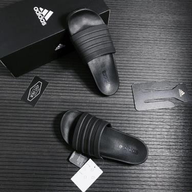 Hàng Chính Hãng Dép Adidas Adilette Comfort Slides All Black 2021**