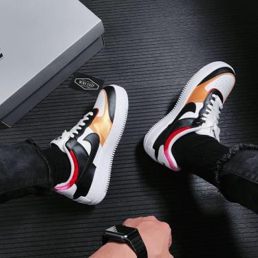 Hàng Chính Hãng Nike Air Force 1 Shadow White Black Multi 2021*