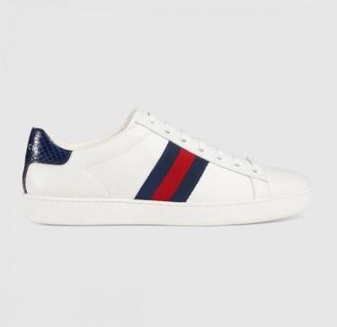 Hàng Chính Hãng Gucci  Ace 'White Blue Red'  2020**