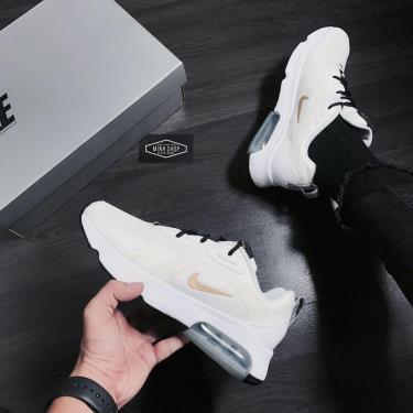 Hàng Chính Hãng Nike Air Max 200 'White Metallic Gold' 2020**