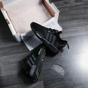 FLASH EVENT 70%  Hàng Chính Hãng Adidas NMD R1 CORE BLACK / SOLAR ORANGE 2020**