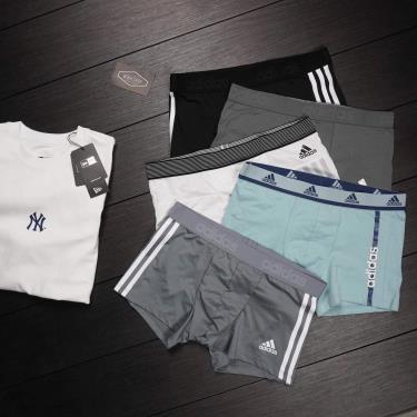 GIẢM 70% -1 tặng 3- Hàng Chính Hãng Quần Boxer Adidas 2020** (Pack 3 cái ngẫu nhiên) MIỄN PHÍ CODE Today