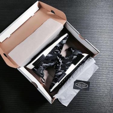 SALE~~ Giày Adidas NMD R1 'Grey Camo'  ** [FZ0077] ÁP DỤNG CK
