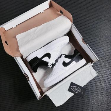 Hàng Chính Hãng Nike Court Vision Low White/Black 2021**