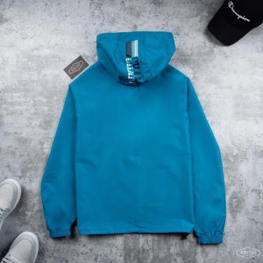 Hàng Chính Hãng Áo Khoác Champion Packable Jacket Teal Basic 2021**