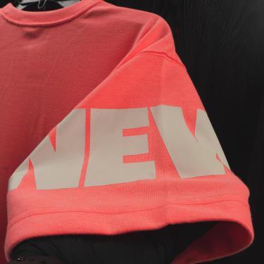 Hàng Chính Hãng Áo Thun New Era Large Logo Neon Orange 2020**