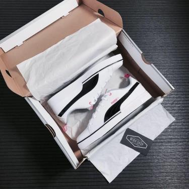 📣Top Choice📣 Giày Puma Breakpoint VULC White/Black [373633 03]