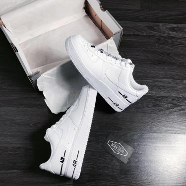 Hàng Chính Hãng Nike Air Force 1 Low LV 8 White/Black 2021** V