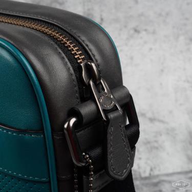 Hàng Chính Hãng Túi Coach Flight Bag Shoulder  Leather Green 2021**