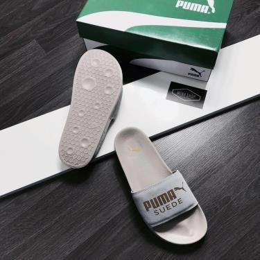 Hàng Chính Hãng Dép Puma Suede Leadcat Sandals Grey/Gold Y 2020**