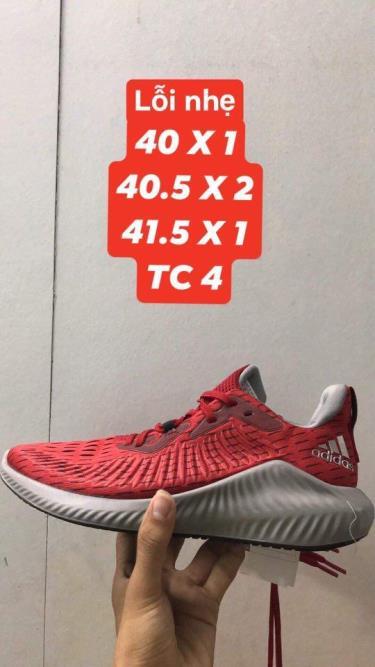 Hàng Chính Hãng Adidas Alphabounce Plus Red Grey 2020**