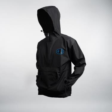 70% GIẢM GIÁ HẤP DẪN Hàng Chính Hãng Áo Khoác Champion Packable Jacket Pop Color Logo Black/Blue Black 2021** V1012 586229 ONLY sz L