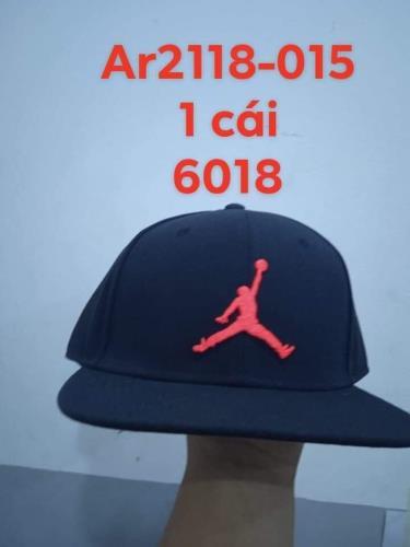 Hàng Chính Hãng Nón Nike Air Jordan Snapback  Black/red2020**