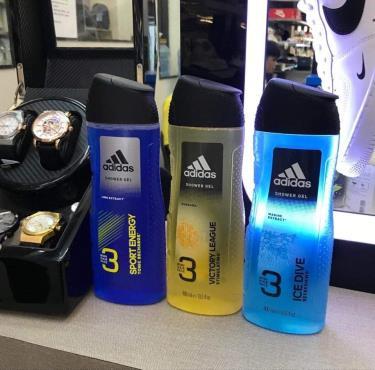 Hàng Chính Hãng Adidas Dầu gội Hair & Body Shower Gel  2020** Ngẫu nhiên 3 chai CUỐI