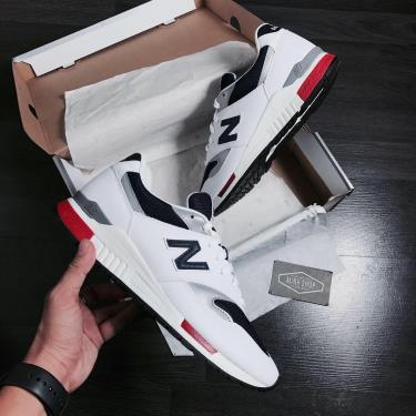 Hàng Chính Hãng Newbalance 840 White/Navy  LOGO**2020**
