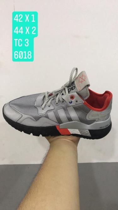 Hàng Chính Hãng Adidas Nite Jogger All Grey/Black 2019**