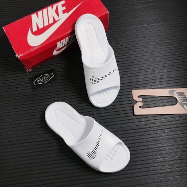Hàng Chính Hãng Dép Nike Victori One White 2021**