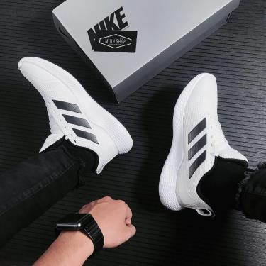 Hàng Chính Hãng Adidas EDGE Gameday White Grey/Black 2021**