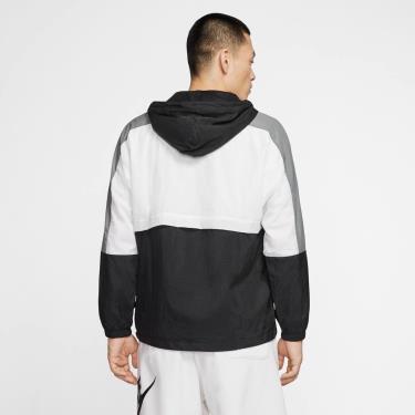 Hàng Chính Hãng Áo Khoác  Nike JKT Windbreaker Black White Grey 2020**