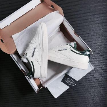 Giày Reebok Club C 85 White/Green [FX3357] [O]