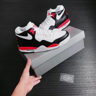 Hàng Chính Hãng Nike Air Flight Legacy Black/White/Solar Red 2021**