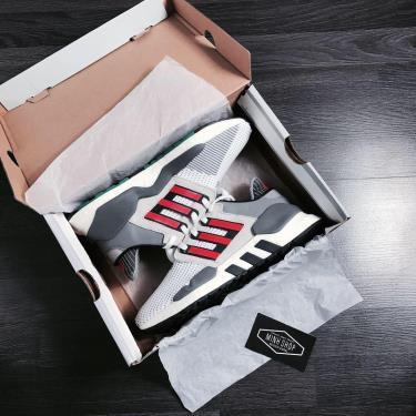 Hàng Chính Hãng Adidas EQT Support 91/18 'Grey Hi-Res Red' 2020**