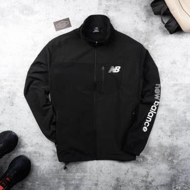 Hàng Chính Hãng Áo Khoác Jacket NewBalance Black/White LOGO 2021