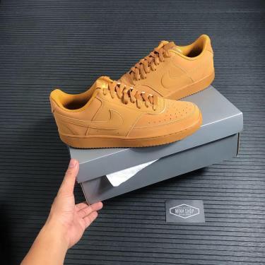 Hàng Chính Hãng Nike Court Vision Low Flax Wheat 2021**