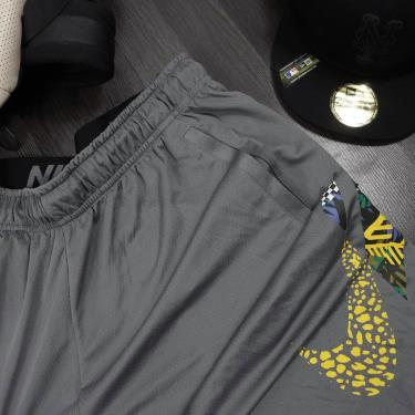 Hàng Chính Hãng Quần Shorts Nike Dri-Fit Basketball  Grey / Yellow .2020