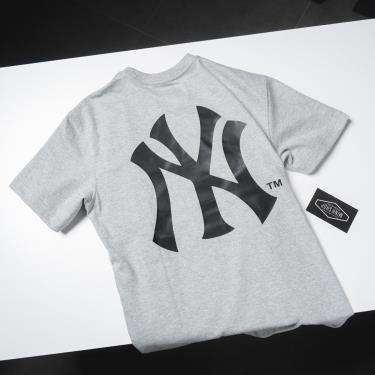 Hàng Chính Hãng Áo Thun New Era Grey/Black Logo New York Yankee SS 2020**