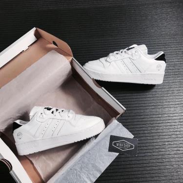 SALE~~ Adidas Rivalry Low Cloud White Core Black  * [FV4759] ÁP DỤNG CHUYỂN KHOẢN