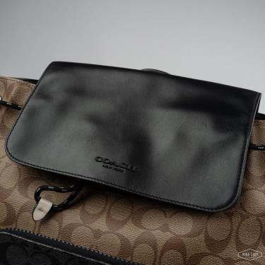 Hàng Chính Hãng Balo Coach Signature Canvas Canvas Black Copper/Khaki Multi 2021**