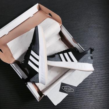 Hàng Chính Hãng Adidas Court 80s  Black 2021**